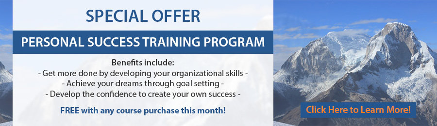 Personal Success Training Program Free With Any Course Purchase